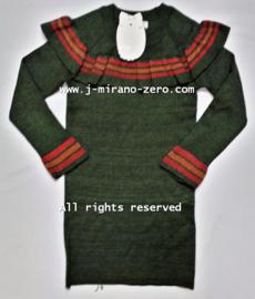 FRY3054 jurk armygreen  (6pcs)