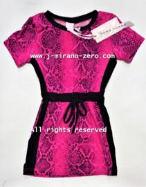 ZM5192 jurk fuchsia  (7pcs)