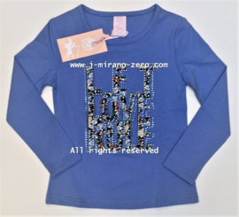 ZM5335 shirt BLAUW   (7pcs)