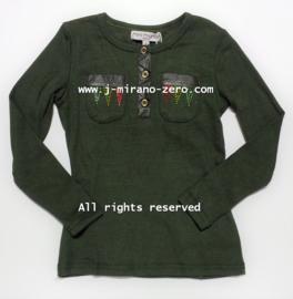 FRMM5130 shirt ARMYGREEN  (8pcs)