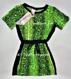 ZM5192 jurk lime  (7pcs)
