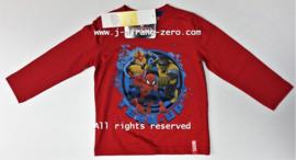 FRHM1059 shirt ROOD (4pcs)