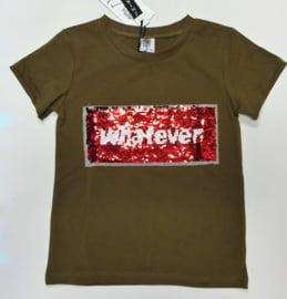 ZM5082-1 shirt armygreen(7pcs) nog enkele pakketten