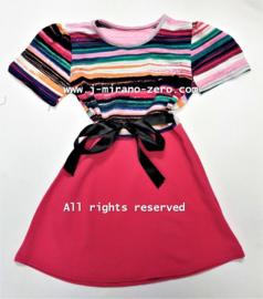 FR JULIA jurk roze (6pcs)