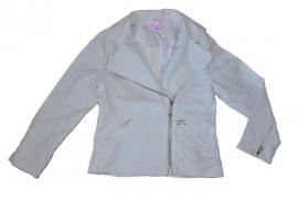 ZM3306 creme ivoor suedine jasje(10pcs)