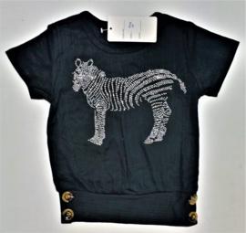 FRHS9038 shirt zwart  (6pcs) nog enkele pakketten