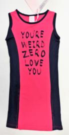 ZM3827 pink jurk (6pcs)