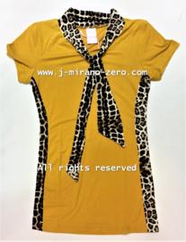 ZM5122 jurk okergeel (7pcs) nog enkele pakketten