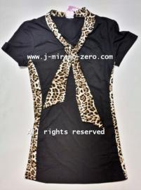 ZM5122 jurk zwart (7pcs)