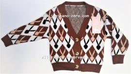 ZMCN020-2 vest  BRIQUE  (5pcs)