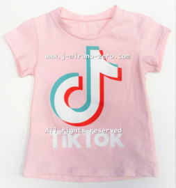 FRTT2238-1 shirt  PINK   (6pcs)
