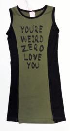 ZM3827 armygreen jurk (6pcs)