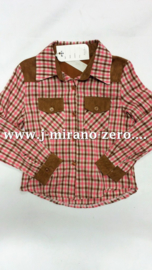 FRP41 camel/roze blouse (6pcs)