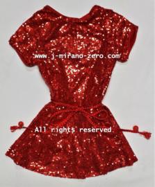 FRFL7195 jurkje rood (6pcs) nog enkele pakketten