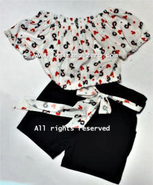 FRTT2129 set WHITE/RED (6pcs)