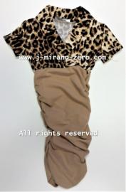 FRCH095-1 jurk ZAND  (6pcs)