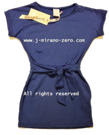 ZM5195 jurk blauw (6pcs)