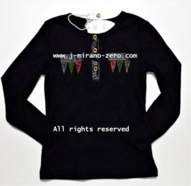 FRMM5130 shirt ZWART  (8pcs)