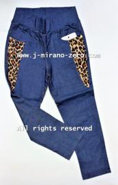 FRGD608 legging jeansblauw (6pcs)