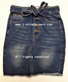 FRG33 jeans rok BLAUW  (6pcs)