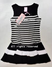 ZM5115 jurk zwart (6pcs)