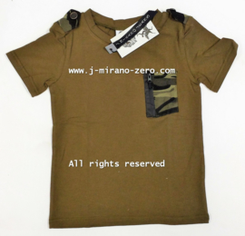 ZM5241 shirt ARMYGREEN  (7pcs)