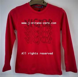 FRFS55166 shirt bordeaux ( 6pcs)