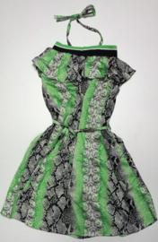 FRCH095 jurk  mintgroen (7pcs)