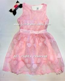 FRKC1903 jurk pink  (6pcs)