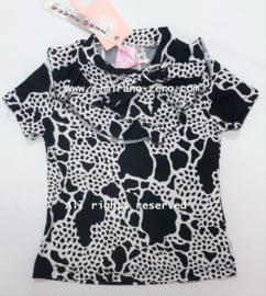ZM5175-1 shirt BLACK&WHITE (7pcs)