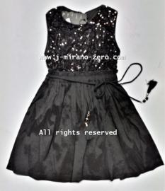 FRFL7194 jurk  zwart (6pcs) nog enkele pakketten