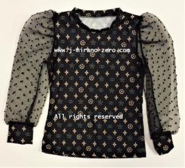 FRKU5319 blouse CAMEL (6pcs)
