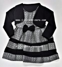 FRart17029 jurk grijs (6pcs)