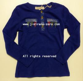 FRMM5130 shirt BLAUW (8pcs)