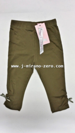 ZM3565 armygreen 3/4 legging  (7pcs)