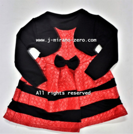 FRart17029 jurk rood (6pcs) nog enkele pakketten