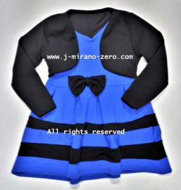 FRart17029 jurk blauw(6pcs) nog enkele pakketten