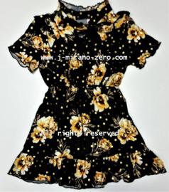 ZM5303 jurk YELLOWFLOWER  (7pcs)