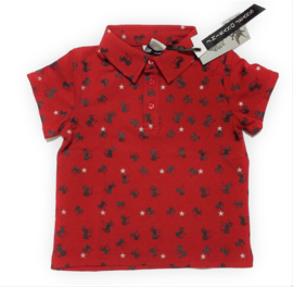ZM3926 polo RED (7pcs)