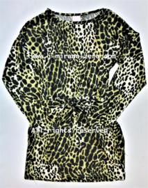 ZM5077-1 jurk groen (6pcs)