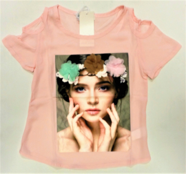 FRJA6850 shirt roze (6pcs)