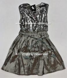 FRFL7194 jurk zilver  (6pcs) nog enkele pakketten