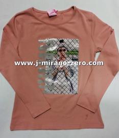 ZM3918 roze shirt (7pcs)