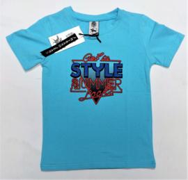 ZM5243 shirt AQUA (7pcs)