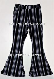 ZM5265 flaredpants STRIPES  (7pcs)
