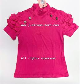 ZM5267-1 shirt  FUCHSIA   (7pcs)