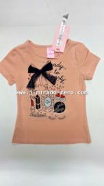 ZM3965 shirt  roze navy strik  (6pcs) nog enkele pakketten