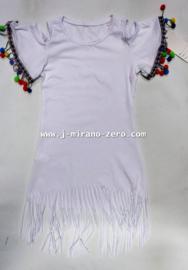 FRP2345  ibiza jurkje wit (6pcs) nog maar enkele pakketten