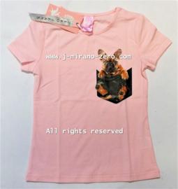 ZM5246 shirt roze (6pcs)