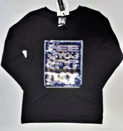 ZM5081 shirt zwart (7pcs)